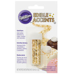 Wilton GOLD STARS EDIBLE ACCENTS