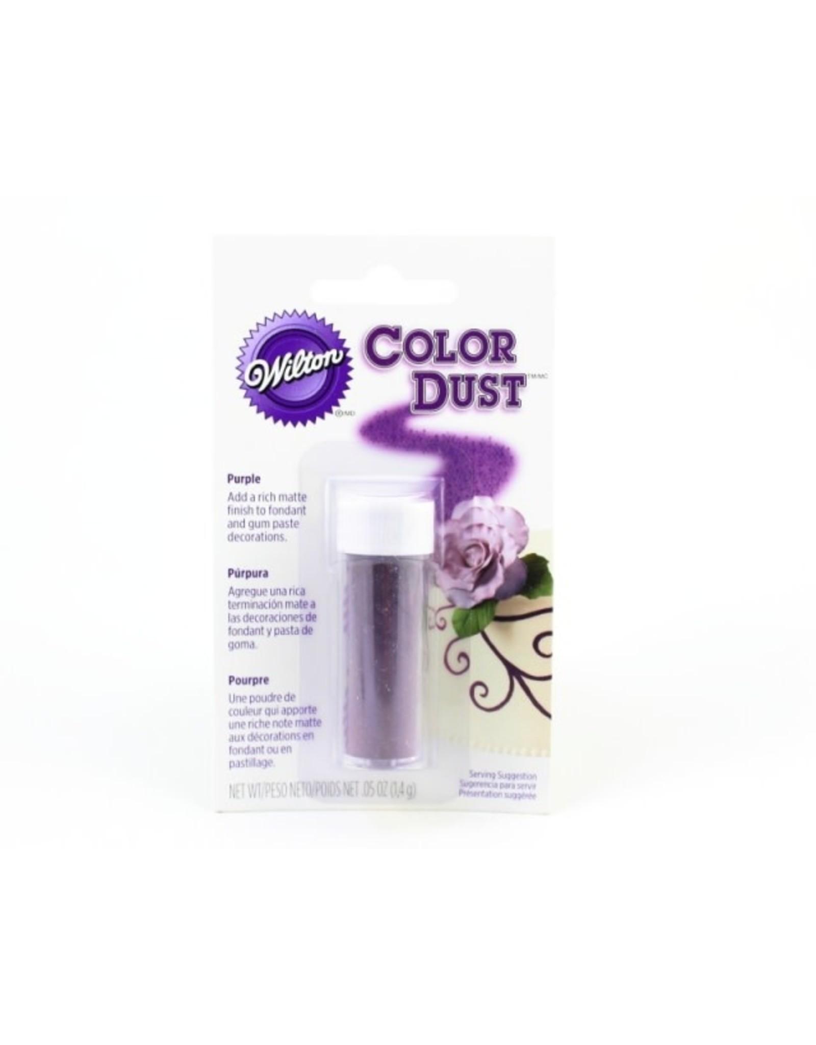 Wilton Color Dust/Pkg-Purple