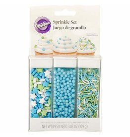 Wilton Wilton Pastel Blue Sprinkle Set