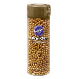 Wilton Wilton Gold Sugar Pearls, 4.8-Ounce