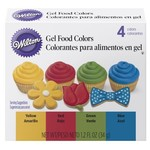 Wilton Wilton 4pck Primary Icing Gel Colors
