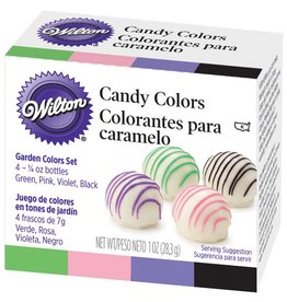 Wilton Wilton Garden Candy Color Set (Set of 4- 1/4 oz bottles)