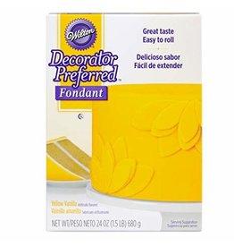 Wilton Wilton 24 oz Yellow Fondant