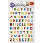 Wilton Wilton Letters & Numbers Edible Icing Decorations
