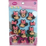 Wilton Wilton Disney Mickey Mouse Clubhouse Minnie Icing Decorations, 12 Count