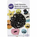 Wilton CANDY MUSTACHES BLISTER