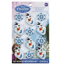 Wilton Wilton 710-4500 12 Count Disney Frozen Icing Decorations