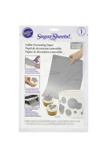 Wilton Wilton Silver Sugar Sheets Edible Decorating Paper, 0.85 oz