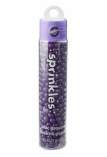 Wilton Wilton 710-9974 Hanging Skinny Purple Jumbo Nonpareils