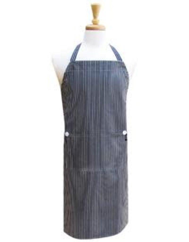 Pinstripe Chef Apron