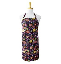 Bright Poppies Chef Apron