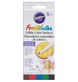 Wilton Wilton W609105 Food Writer, Extra-Fine Tip for Edible Color Markers, 0.25-Ounce