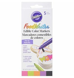 Wilton Wilton Neon Food Writer Edible Color Markers