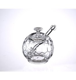 Lucite Honey Jar