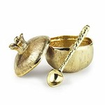 Mini Gold Pomegranate Pot