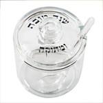 Lucite Honey Jar + Spoon