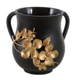 Elegant Polyresin Washing Cup Flowers