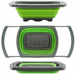 Robinson Home Products EXPANDING OVER THE SINK COLANDER