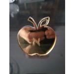 Monogrammed Apple Gold Napkin Ring
