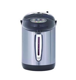 Le Chef 3.5 Charcoal Grey & Stainless Steel: auto dispense, reboil