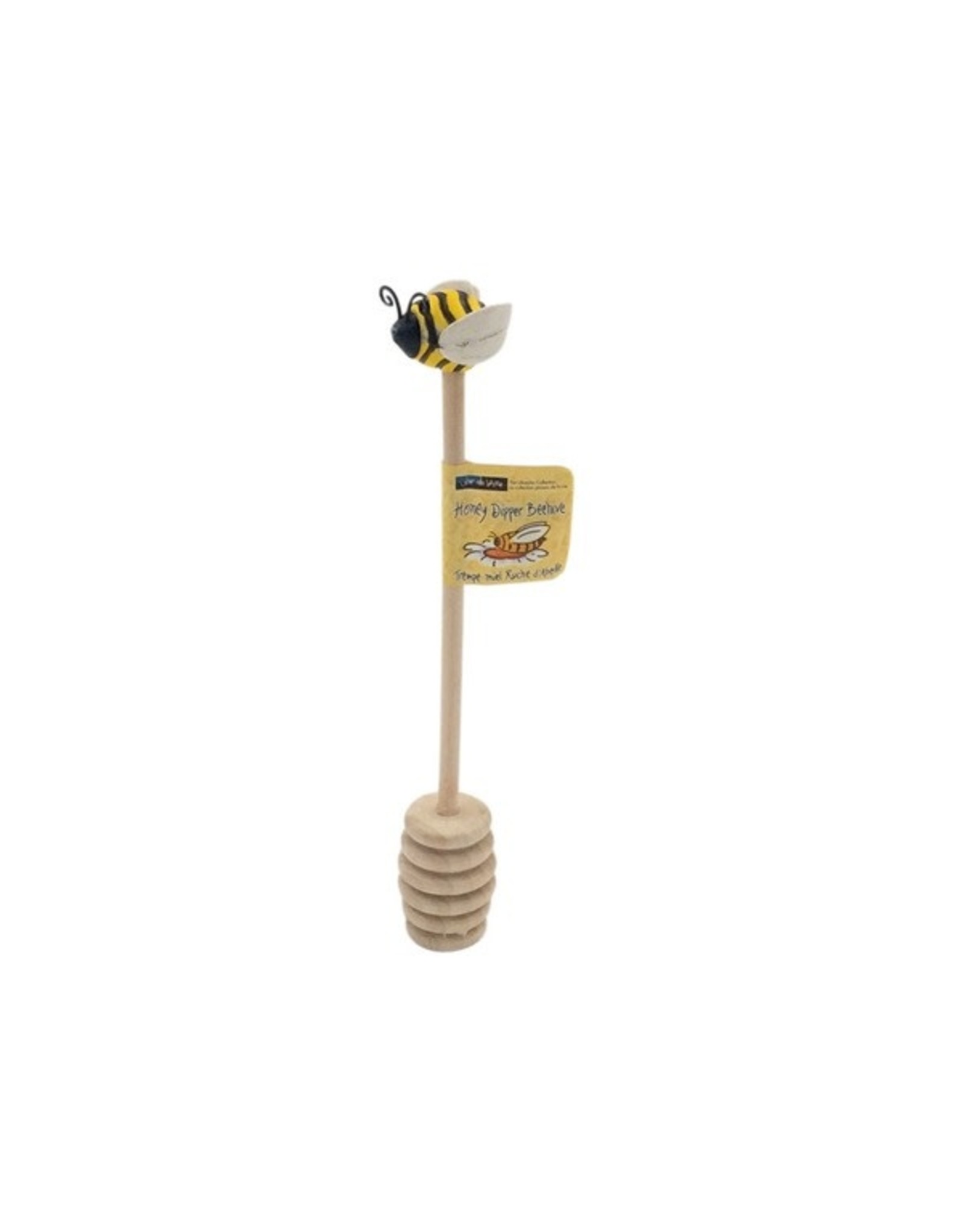 BEE HIVE HONEY DIPPER