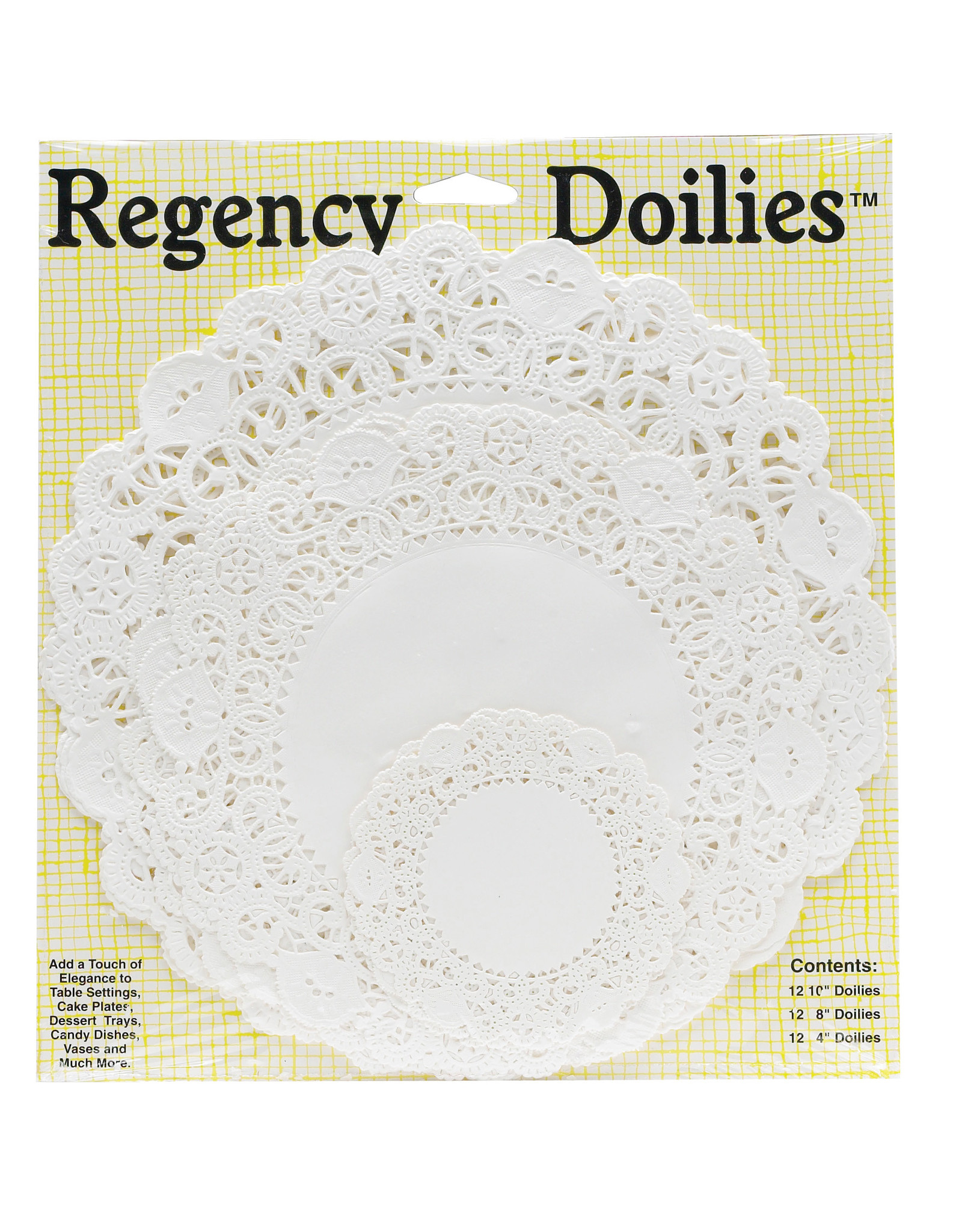 Assorted Size Doilies
