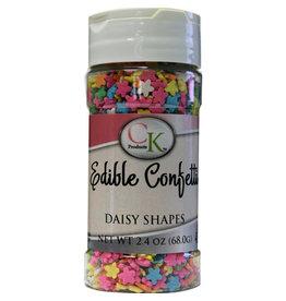Edible Confetti Daisy Shapes