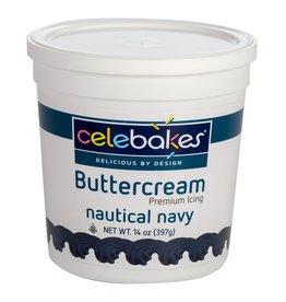Celebakes Nautical Navy Buttercream Icing