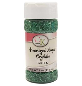 CK Green Pearlized Sugar Cystals