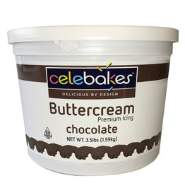 Celebakes Chocolate Buttercream Icing, 3.5 lbs