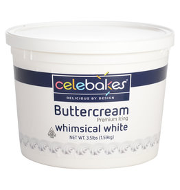 Celebakes Whimsical White Buttercream Icing, 3.5 lbs
