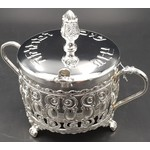 40191S Silver Plated Honey Dish
