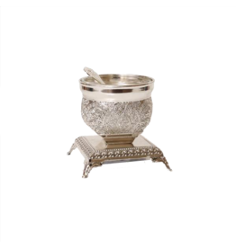 X874 Silver Single Salt Dish