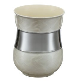 Pearl and Silver Washing Cup