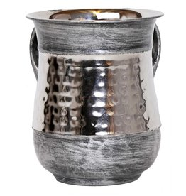 Stainless Steel Silver Brushed Washing Cup