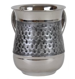 SS Silver Brushed Washing Cup