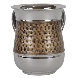 Brushed Gold Stainless Steel Washing Cup