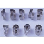 """Ateco 1.5"""" Cookie Cutter NUMBERS SET"""