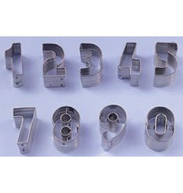 "Ateco 1.5"" Cookie Cutter NUMBERS SET"