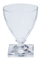 Acrylic 8.5 oz Wine Goblet Crystal