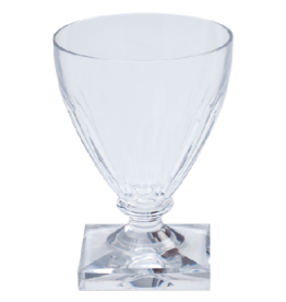 Acrylic 8.5 oz Wine Goblet Crystal