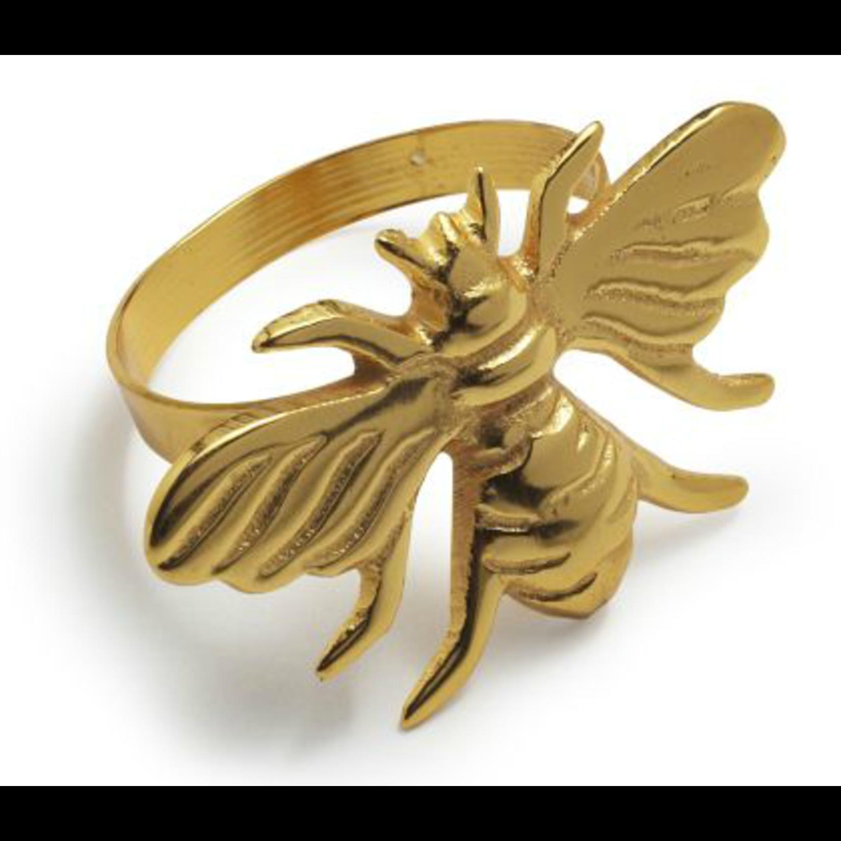 Bee Gold Napkin Ring
