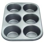 Non Stick 6 Cup Jumbo Muffin Pan