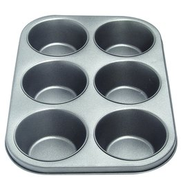 Non Stick 6 Cup Jumbo Muffin Pan