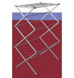 "DRYING RACK-10 DOWEL/22'-43""H-GREY"