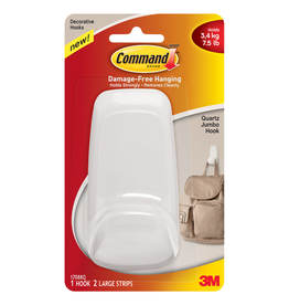 COMMAND HOOK 75LB LARGE CD/1