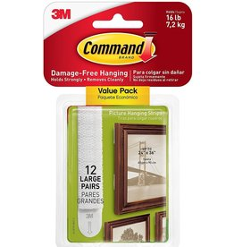 12 Largen3M Command Strips