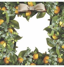 Lemon Wreath Placemats Set of 30