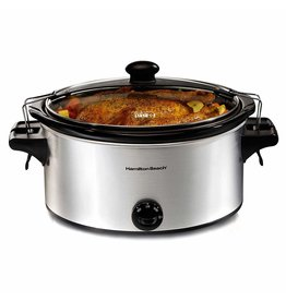 Imperial 2018 Hamilton Beach 6 quart slow cooker stainless steel