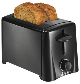 Proctor Silex 2 Slice Toaster Black